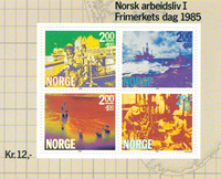 Norvège - AFA 938 - Bloc-feuillet - Neuf