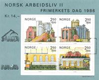 Norvège - AFA 955 - Bloc-feuillet - Neuf