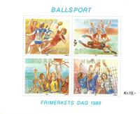 Norvège - AFA 1001-04 - Bloc-feuillet - Neuf