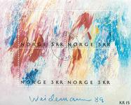 Norvège - AFA 1021-24 - Bloc-feuillet - Oblitéré