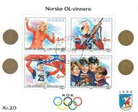 Norvège - AFA 1025-28 - Bloc-feuillet - Oblitéré