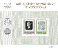 Norge - AFA 1042-43 - Miniark - Postfrisk