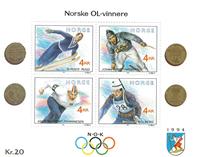 Norvège - AFA 1072-75 - Bloc-feuillet - Neuf