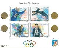 Norge - AFA 1082-85 - Postfrisk miniark