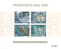 Norvège - AFA 1099-1102 - Bloc-feuillet - Oblitéré
