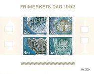Norvège - AFA 1099-1102 - Bloc-feuillet - Neuf