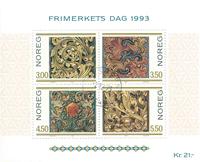 Norvège - AFA 1133-36 - Bloc-feuillet - Oblitéré