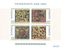 Norvège - AFA 1133-36 - Bloc-feuillet - Neuf