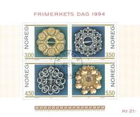 Norvège - AFA 1163-66 - Bloc-feuillet - Oblitéré