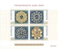Norvège - AFA 1163-66 - Bloc-feuillet - Neuf