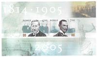 Norvège - AFA 1424-25 - Bloc-feuillet - Neuf