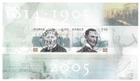 Norvège - AFA 1524-25 - Bloc-feuillet - Oblitéré