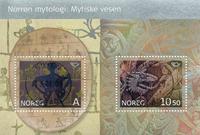 Norvège - AFA 1560-61 - Bloc-feuillet - Oblitéré