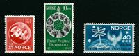 Norge - AFA nr. 358-360 - Postfrisk