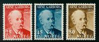 Norge - AFA nr. 367-369 - Postfrisk