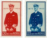 Norge - AFA 390-391 - Postfrisk