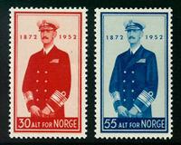 Norvège - AFA 390-391 - Neuf