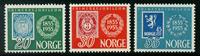 Norge - AFA nr. 404-406 - Postfrisk