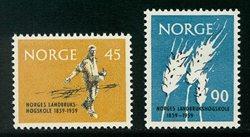 Norvège - AFA 451-452 - Neuf