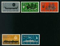Norge - AFA 459-463 - Postfrisk