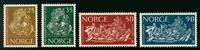 Norge - AFA nr. 504-507 - Postfrisk