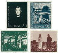 Norvège - AFA 522-525 - Neuf