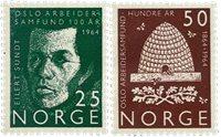 Norvège - AFA 526-527 - Neuf