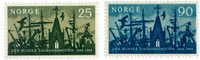Norvège - AFA 532-533 - Neuf