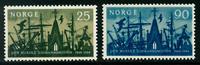 Norge - AFA nr. 532-533 - Postfrisk