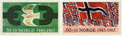 Norvège - AFA 541-542 - Neuf