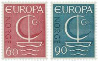 Norge - AFA 560-561 - Postfrisk