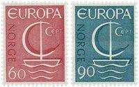 Norvège - AFA 560-561 - Neuf