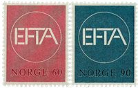 Norge - AFA nr. 564-565 - Postfrisk
