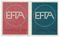 Norvège - AFA 564-565 - Neuf