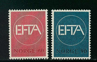 Norway - AFA 564-565 - Mint