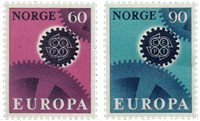 Norge - AFA nr. 568-569 - Postfrisk