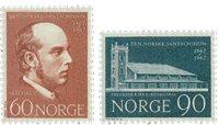 Norge - AFA 572-573 - Postfrisk