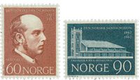 Norvège - AFA 572-573 - Neuf