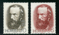 Norway - AFA 581-582 - Mint