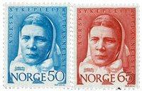 Norge - AFA nr. 587-588 - Postfrisk