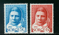 Norway - AFA 587-588 - Mint