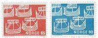 Norge - AFA nr. 592-593 - Postfrisk