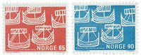Norvège - AFA 592-593 - Neuf