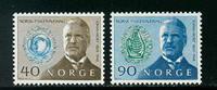 Norge - AFA nr. 598-599 - Postfrisk