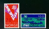 Norge - AFA nr. 619-620 - Postfrisk