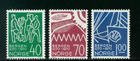 Norway - AFA 621-623 - Mint
