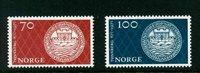 Norge - AFA nr. 632-633 - Postfrisk