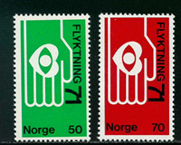 Norway - AFA 636-637 - Mint