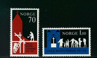 Norvège - AFA 640-641 - Neuf