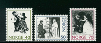 Norway - AFA 643-645 - Mint